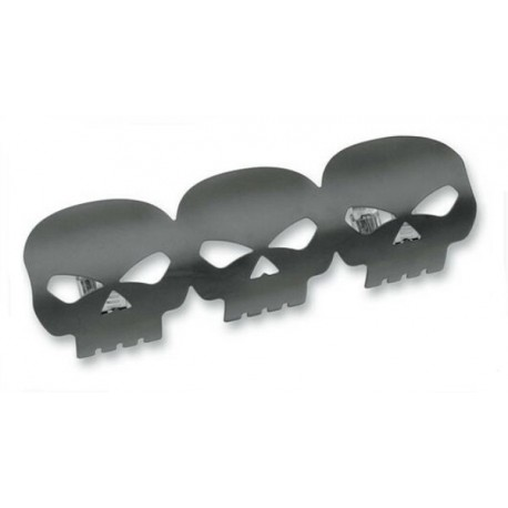 HEAT SHIELD BLACK SKULL (OUTLET)