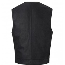 HIGHWAY I CLASSIC BLACK LEATHER VEST