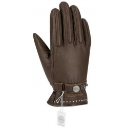SEGURA GLOVES LADY COX CRYSTAL BROWN