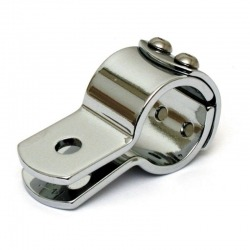 "CHROME 3 PIECE CLAMP 1 ""(25.4 MM)"