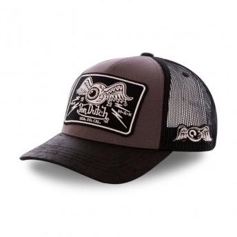 VON DUTCH BASEBALL CAP EYES BLACK / WHITE