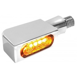 NDICATORS SMD LED HEINZBIKES MICRO BLOKK WITH BRAKE LIGHT AND CHROME POSITION