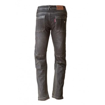 JEANS BLACK INVICTUS WITH PROTECTIONS