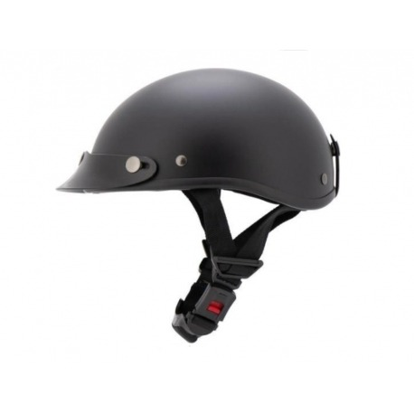casco-braincap-no-homologado-negro-mate