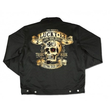 LUCKY 13 BOOZE, BIKES & BROADS JACKET
