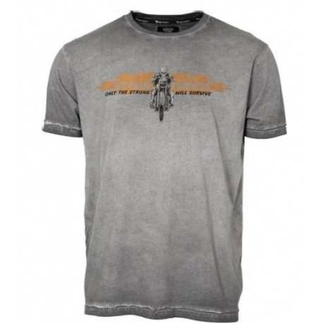 LETHAL THREAT DEATH VALLEY GRAY T-SHIRT