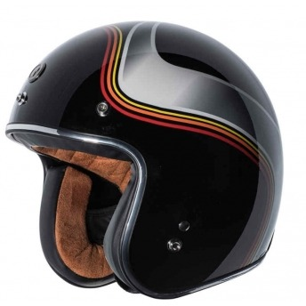 HELMET JET TORC T-50 LUMINOUS BLACK BRIGHT