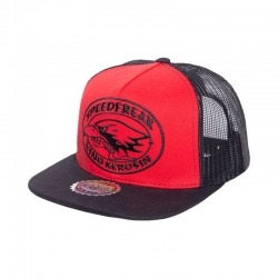 KING KEROSIN SPEEDFREAK RED / BLACK CAP