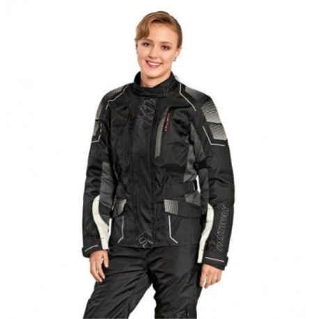 WOMEN JACKET CORDURA FASTWAY TOURING IV GRAY