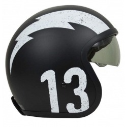 JET ORIGINE SPRINT GASOLINE WHITE HELMET