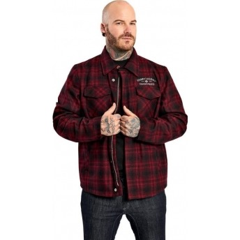 SHIRT WEST COAST CHOPPERS QUILTED GANG