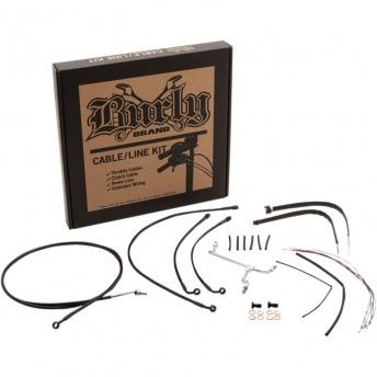 "KIT CABLES BURLY 14"" HARLEY DAVIDSON FLTRU/X CON ABS 15-16"
