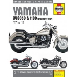 HAYNES YAMAHA XVS REPAIR MANUAL 650,1100 97-11
