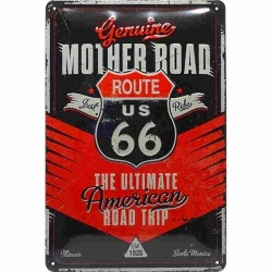 GARAGE ROUTE 66 FREEDOM PLATE