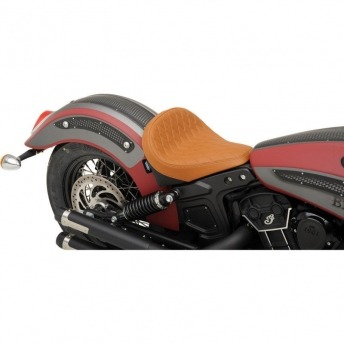 SEAT ONLY BOBBER MARRON SMOOTH INDIAN SCOUT 15-18.