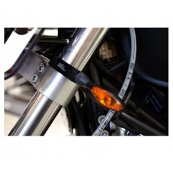 FREE SPIRITS TURN SIGNAL FORK MOUNT KIT 41 MM.