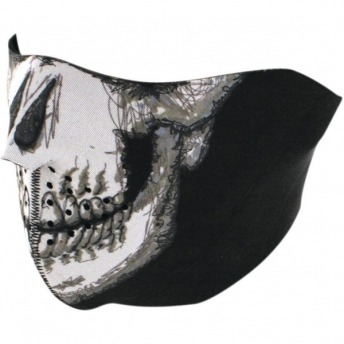 HALF FACE MASK SKULL FACE ONE SIZE