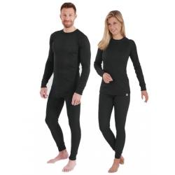 FASTWAY BLACK THERMAL CLOTHING SET