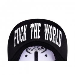 KING KEROSIN FTW SNAPBACK CAP BLACK/WHITE