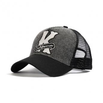 KING KEROSIN USA BROWN AND BLACK CAP
