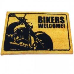 BIKERS WELCOME MAT