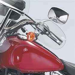 TRANSPARENT HAND DEFLECTORS HONDA VT750 DC BLACK WIDOW