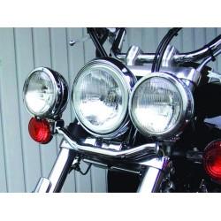 SOPORTE FAROS AUXILIARES YAMAHA XVS650 DRAG STAR CLASSIC
