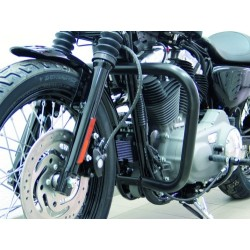 DEFENSE MOTOR 38mm. BLACK Sportster EVO '04 -UP