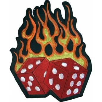 parche-burning-dices-19x155cm