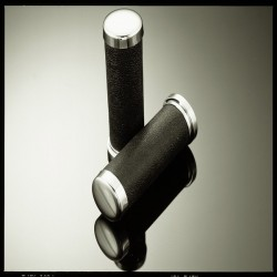 25.4mm GRIPS LEATHER LOOK