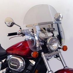 WINDSHIELD HONDA VT750 CHOPPED NATIONAL CYCLES