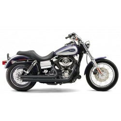ESCAPE HARLEY DAVIDSON DYNA COBRA SPEEDSTER SLASH DOWN BLACK