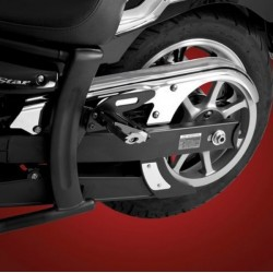YAMAHA XVS1300 TRIM BELT COVERS