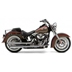ESCAPE HARLEY DAVIDSON SOFTAIL DELUXE 3-inch COBRA SLIP-ON MUFFL