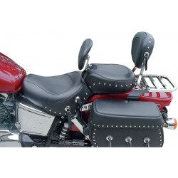 MUSTANG SEAT AND BACK WITH STUDDED HONDA VT1100