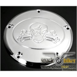 PRIMARY COVER TRIM SKULL BIGTWIN HD 1999-UP