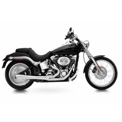 "ESCAPE HARLEY DAVIDSON FXST AND FLST SUPERTRAPP ""SUPER MEGS"" 4 """