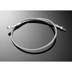 TWISTED STEEL THROTTLE CABLE SUZUKI VZ800 + 15CM