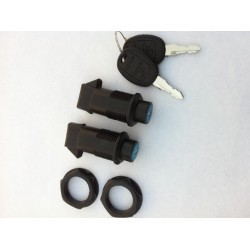 RIGID SADDLEBAG KIT ROYAL CORNER LOCKS
