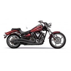 ESCAPE SPEEDSTER SWEPT YAMAHA XV1300 BLACK STRIKER 11
