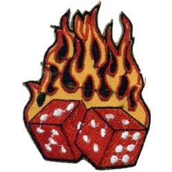 PARCHE BURNING DICES