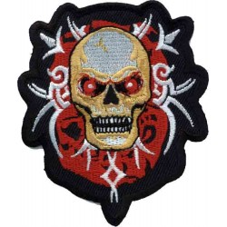 PARCHE ANGRY SKULL