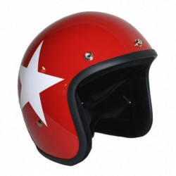 JET BANDIT STAR RED CASE