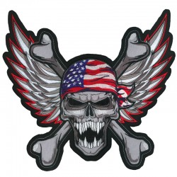 PARCHE WINGED USA