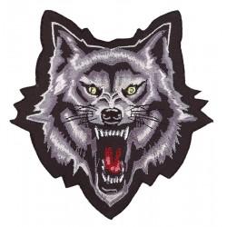 PARCHE WOLF HEAD