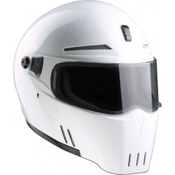 SPACIOBIKER BANDIT FULL FACE HELMET ALIEN II WHITE