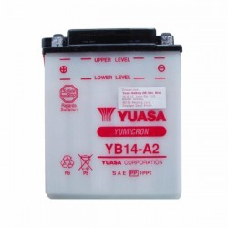 YUASA BATTERY YB14-A2